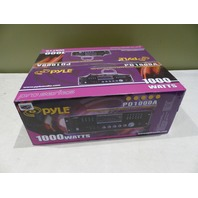 PYLE AM/FM RECEIVER WITH DVD/MP3/USB PLAYER  PD1000A 1000 WATTS AS IS