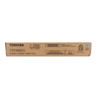 TOSHIBA T-FC556U-C CYAN TONER CARTRIDGE