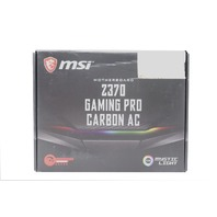 MSI Z370 GAMING PRO CARBON AC WITH INTEL Z370 ATX MOTHERBOARD