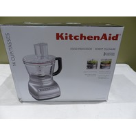 KITCHENAID KFP1466CU 14-CUP FOOD PROCESSOR W/EXACTSLICE SYSTEM & DICING KIT KFP1