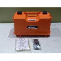 NIKON HQA46480 DTM-322+ RANGE 7540 FEET BLUETOOTH 5 SECOND TOTAL STATION