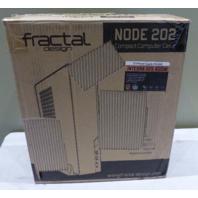 FRACTAL DESIGN NODE 202 FDMCANODE202AAUS SLIM PROFILE MINI-ITX COMPUTER CASE