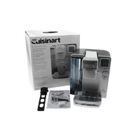 CUISINART SILVER MINI SINGLE SERVE BREWING SYSTEM K-CUP PODS SS-700