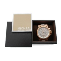 MICHAEL KORS (MK8492) STAINLESS STEEL & SILICONE AUTOMATIC WATCH