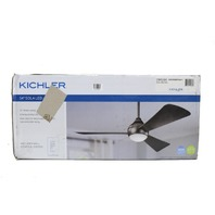 "KICHLER LIGHTING SOLA 3 BLADES LED 54"" INDOOR MATTE WHITE CEILING FAN"