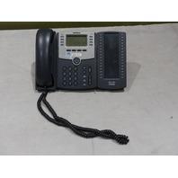 CISCO SPA508G IP PHONE W/ SPA500S BUTTON ATTENDANT CONSOLE