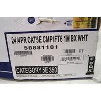 HONEYWELL 1000 FT 24/4PR CAT5E CMP/FT 1M 50881101