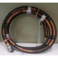 EATON 20 FEET OIL & PETROLEUM HOSE FUEL TRANSFER MODEL EHP500-32-20-ALCE