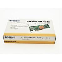 HIGH POINT TECHNOLOGIES ROCKETRAID 4522 8 CHANNEL SAS 6GB/S PCI EXPRESS 2.0