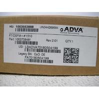 ADVA  F7/OSFM+ #1510 FSP-3000R7 MODULE 1510 NM HW REL 2.0 1063708481
