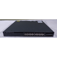 CISCO CATALYST 3650 24 POE+ 4X1G WS-C3650-24PS-S V04 IPMV710BRE