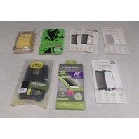 LOT OF MISC CELL PHONE ACCESSORIES - OTTERBOX PUREGEAR CRYSTAL ARMOR IVISOR AG