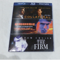 TRIPLE FEATURE TOM CRUISE: COLLATERAL / DAYS OF THUNDER / THE FIRM BLU-RAY NEW