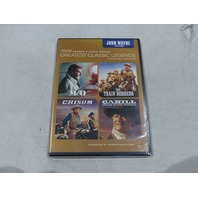 TCM: GREATEST CLASSIC LEGENDS FILM COLLECTION: JOHN WAYNE ACTION W/OUT SLIPCOVER