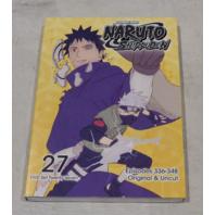 SHONEN JUMP NARUTO SHIPPUDEN DVD SET 27 (EPISODES 336-348) ORIGINAL & UNCUT DVD