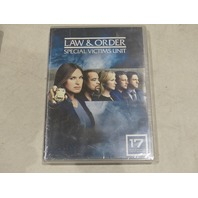 LAW & ORDER SPECIAL VICTIMS UNIT YEAR 17 DVD NEW / SEALED