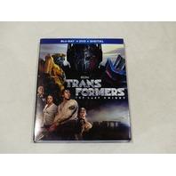 TRANSFORMERS THE LAST KNIGHT BLU-RAY + DVD + DIGITAL NEW