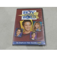 BOY MEETS WORLD: THE COMPLETE FIRST SEASON DVD SET NEW