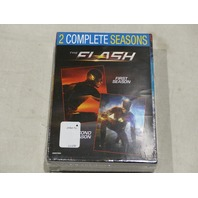 THE FLASH THE COMPLETE FIRST AND SECOND SEASONS DVD NEW