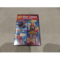 4 FILM FAVORITES: LATE NIGHT LAUGHS DVD SET NEW