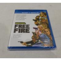 FREE FIRE BLU-RAY+DIGITAL HD NEW / SEALED