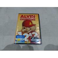 ALVIN AND THE CHIPMUNKS 1, 2, & 3 DVD SET NEW + 2 BONUS FINGER PUPPETS