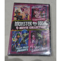 MONSTER HIGH 4-MOVIE COLLECTION DVD NEW / SEALED