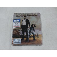LOGAN BLU-RAY + DIGITAL + 4K ULTRA HD. NEW