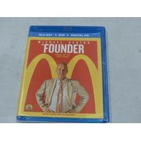 THE FOUNDER BLU-RAY+DVD+DIGITAL HD NEW