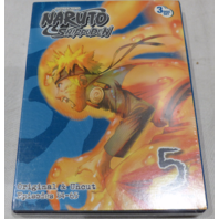 NARUTO SHIPPUDEN DVD SET 5 ORIGINAL AND UNCUT EPISODES 54-65 NEW