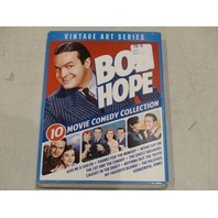 BOB HOPE VINTAGE ART SERIES 10 MOVIE COMEDY COLLECTION DVD NEW W/ SLIPCOVER