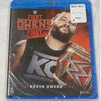 FIGHT OWENS FIGHT: THE KEVIN OWENS STORY BLU-RAY NEW