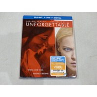 UNFORGETTABLE BLU-RAY+DVD+DIGITAL NEW W/ SLIPCOVER