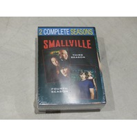 SMALLVILLE 2 COMPLETE SEASONS 3&4 DVD NEW