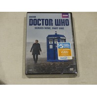 DOCTOR WHO SERIES NINE PART ONE, PART TWO DVD NEW