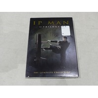 IP MAN TRILOGY: THE COMPLETE COLLECTION DVD NEW W/ SLIPCOVER