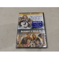 AGAINST THE WILD DOUBLE FEATURE DVD NEW