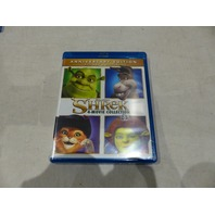 SHREK ANNIVERSARY EDITION 4-MOVIE COLLECTION BLU-RAY+DIGITAL HD NEW