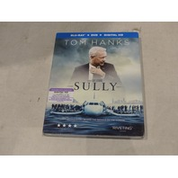 SULLY BLU-RAY+DVD+DIGITAL HD NEW / SEALED WITH SLIPCOVER