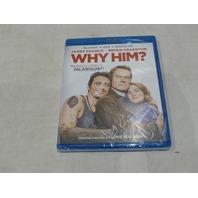 WHY HIM? BLU-RAY+DVD+DIGITAL HD NEW
