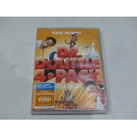 DR. DOLITTLE 4 PACK DVD NEW
