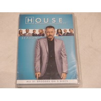 HOUSE: SEASON SIX DVD SET NEW