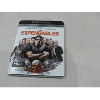 THE EXPENDABLES 4K ULTRA HD+BLU-RAY+DIGITAL HD NEW W/ SLIPCOVER