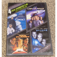 4 FILM FAVORITES: SCI-FI COLLECTION DVD SET NEW