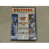 CRITTERS WITH CHARACTER COLLECTION 4 FILM FAVORITES DVD SET NEW