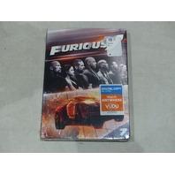 FURIOUS 7 DVD + DIGITAL VUDU NEW