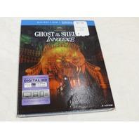 GHOST IN THE SHELL: INNOCENCE BLU-RAY+DVD+DIGITAL HD ULTRAVIOLET NEW
