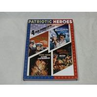 PATRIOTIC HEROES 4 FILM FAVORITES JOHN WAYNE COLLECTION DVD NEW