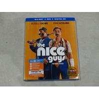THE NICE GUYS BLU-RAY+DVD+DIGITAL HD NEW WITH SLIPCOVER