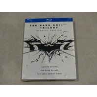 THE DARK KNIGHT TRILOGY: SPECIAL EDITION BLU-RAY SET NEW